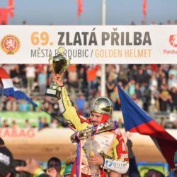 Vítěz Zlaté přilby na Tomíčkově memoriálu