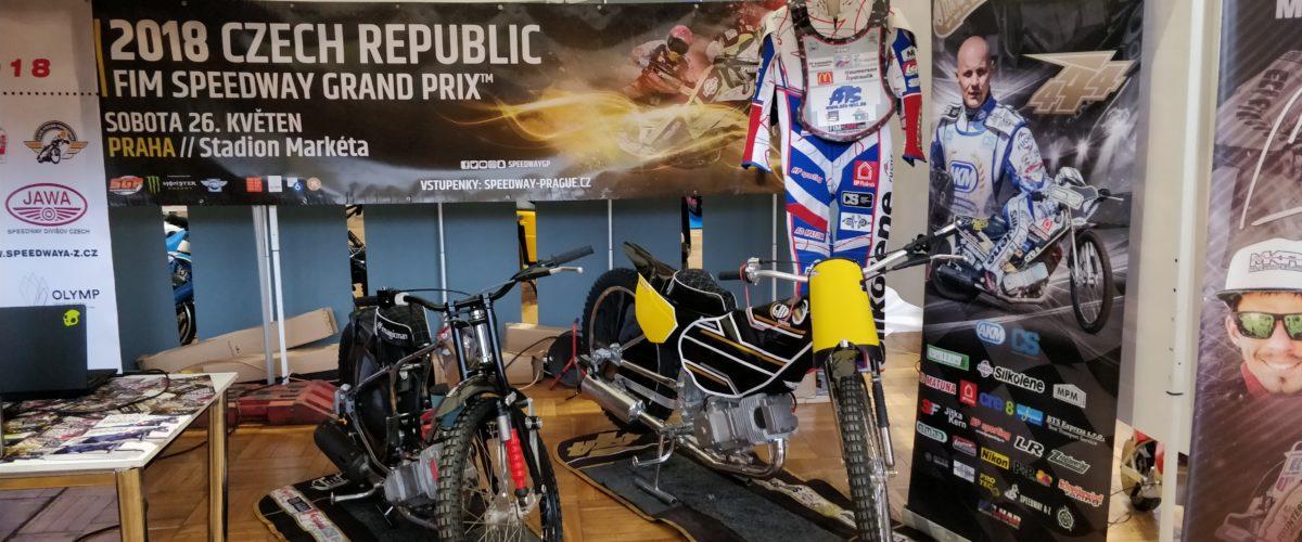AKM se účastní výstavy Motocykl 2018 v Holešovicích