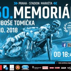Časový harmonogram na Memoriál Luboše Tomíčka