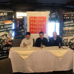 Druhá tisková konference Auto klubu Markéta