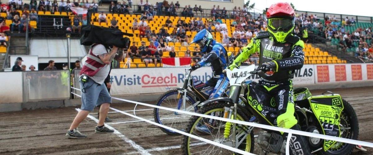 Nedělní závod vyhrál skvěle jedoucí Artem Laguta